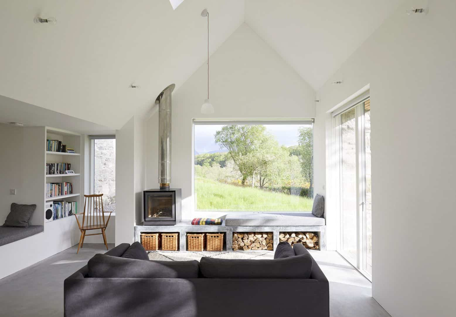 Fernaig Cottage By Hopkins Architects 2