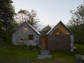 Fernaig Cottage By Hopkins Architects 5