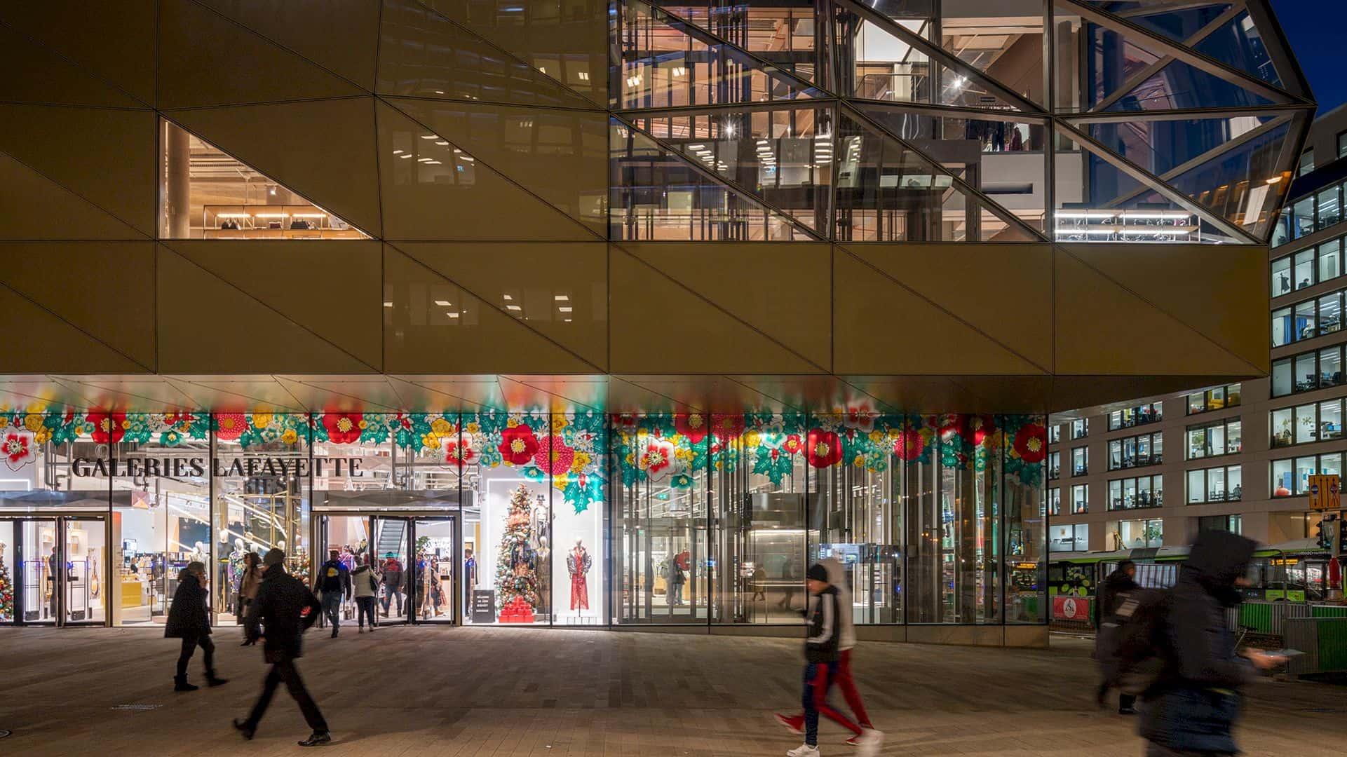 Galeries Lafayette By Foste Partners 5