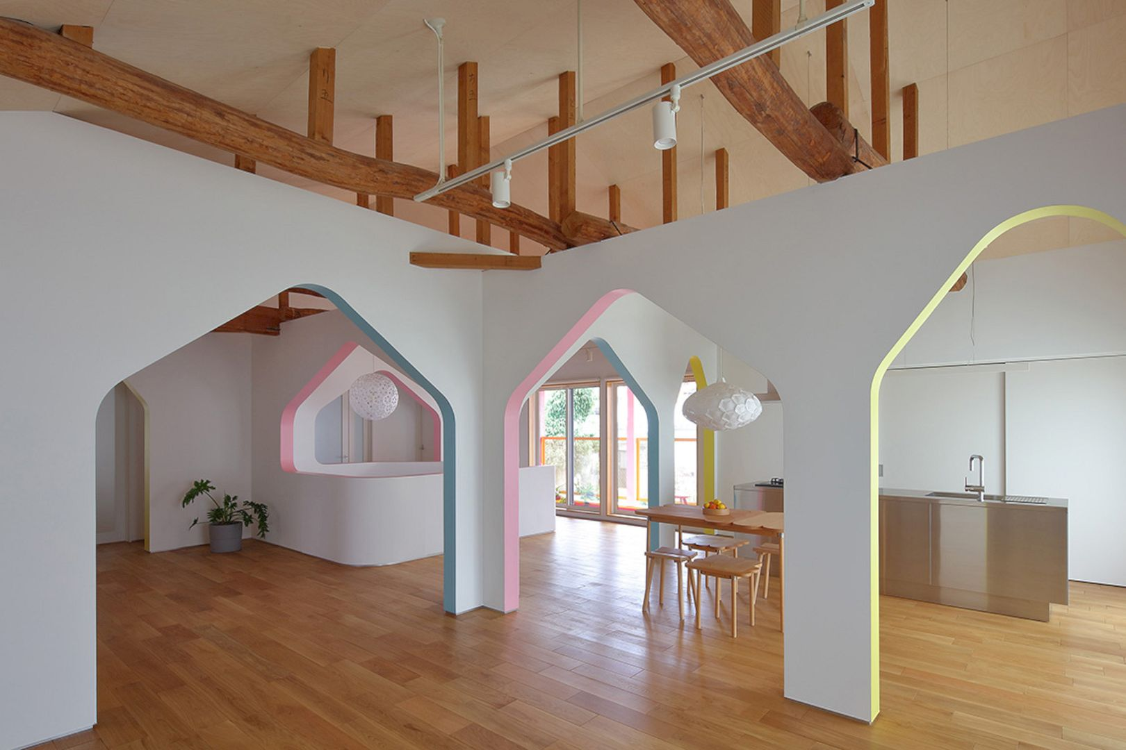 House Of Many Arches By 24d Studio 10