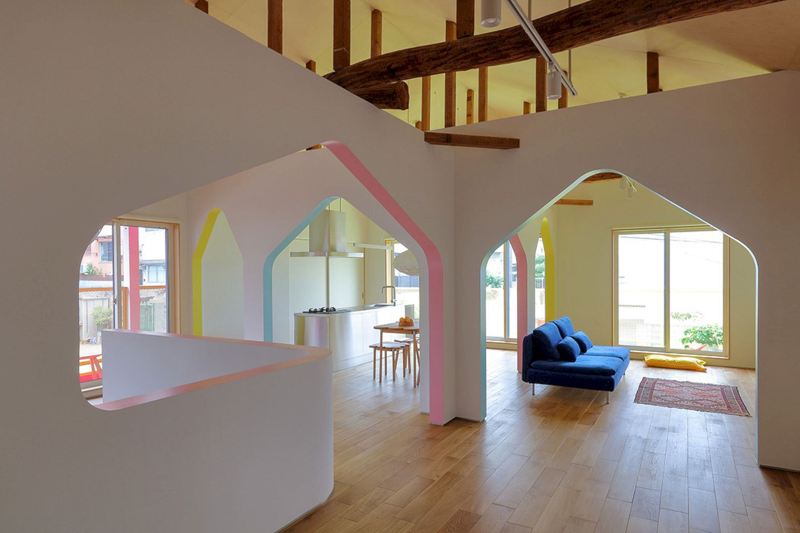 House Of Many Arches By 24d Studio 9