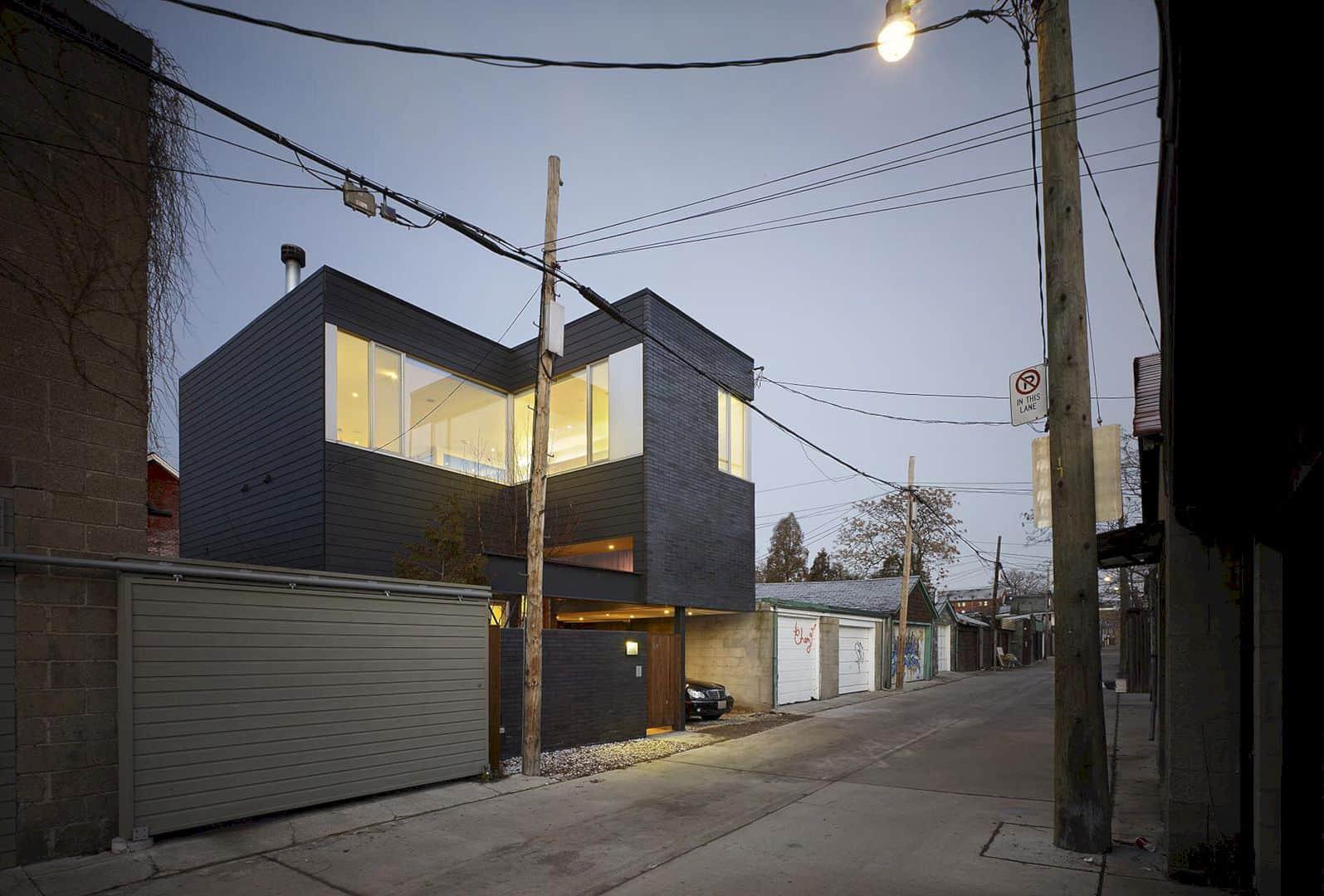 Laneway House By KOHN SHNIER Architects 9