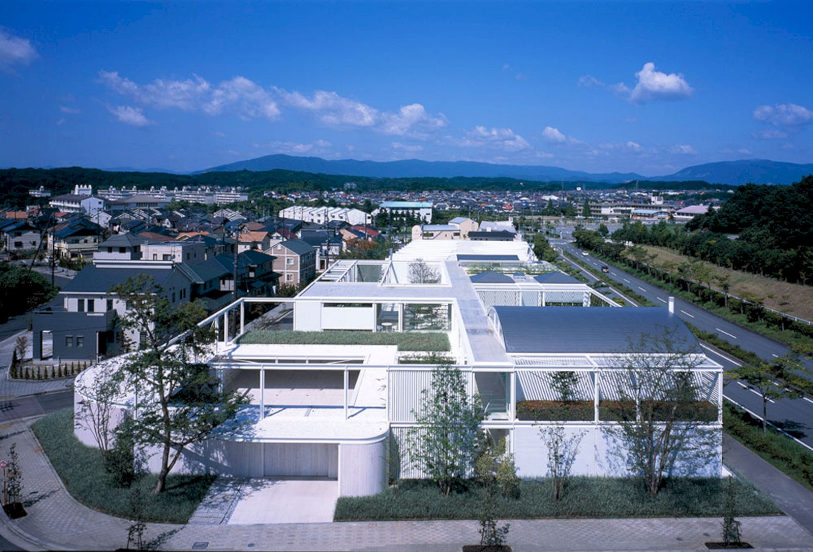 Maison E By Shigeru Ban Architects 3