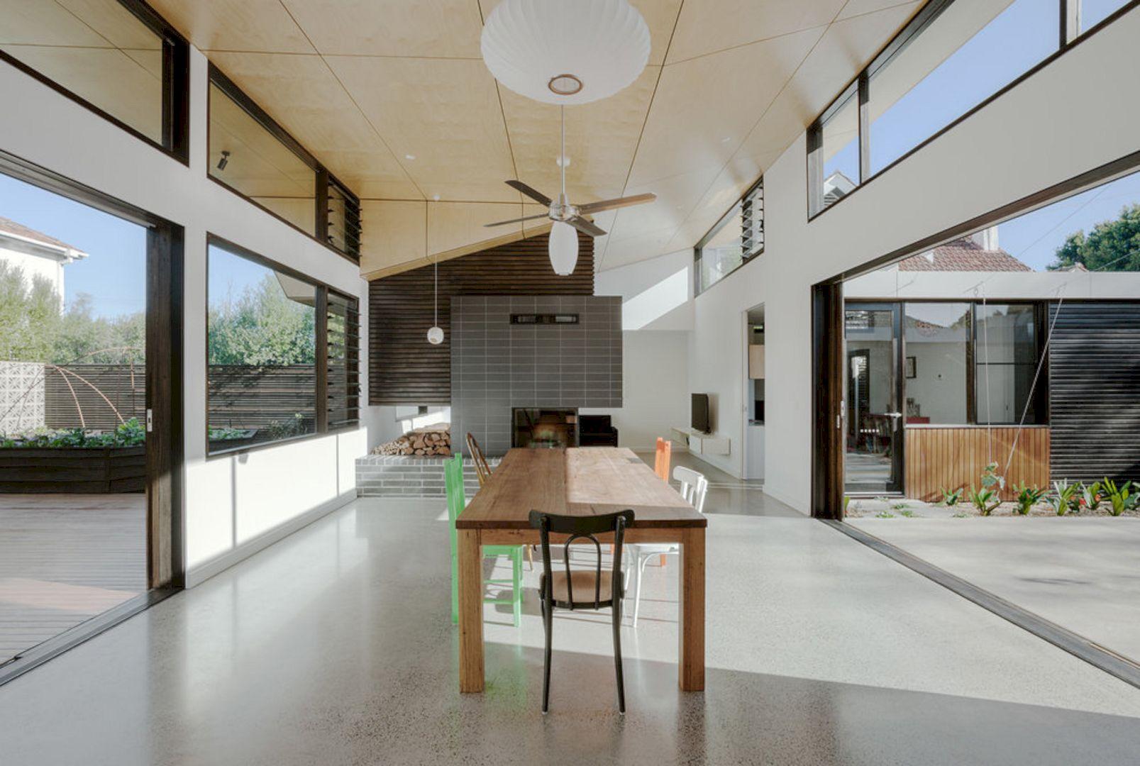 Courtyard House Elsternwick By Zen Architects 1