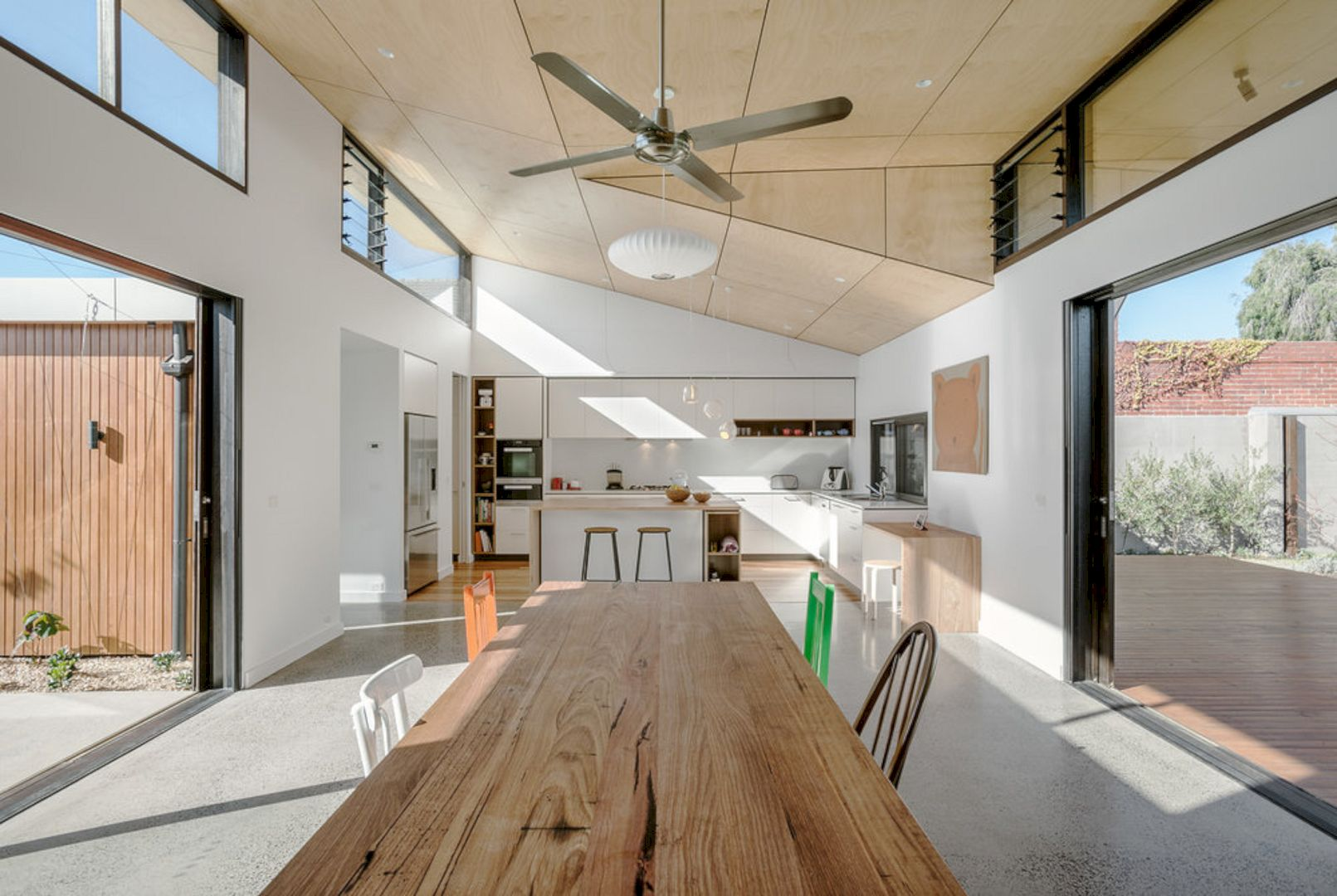 Courtyard House Elsternwick By Zen Architects 2