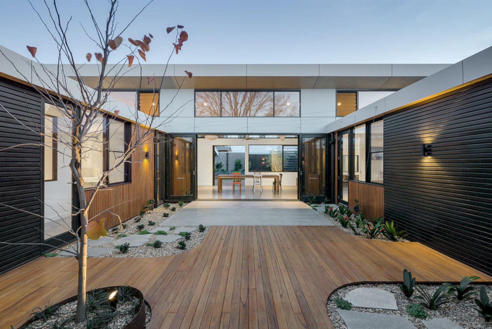 Courtyard House Elsternwick By Zen Architects 5