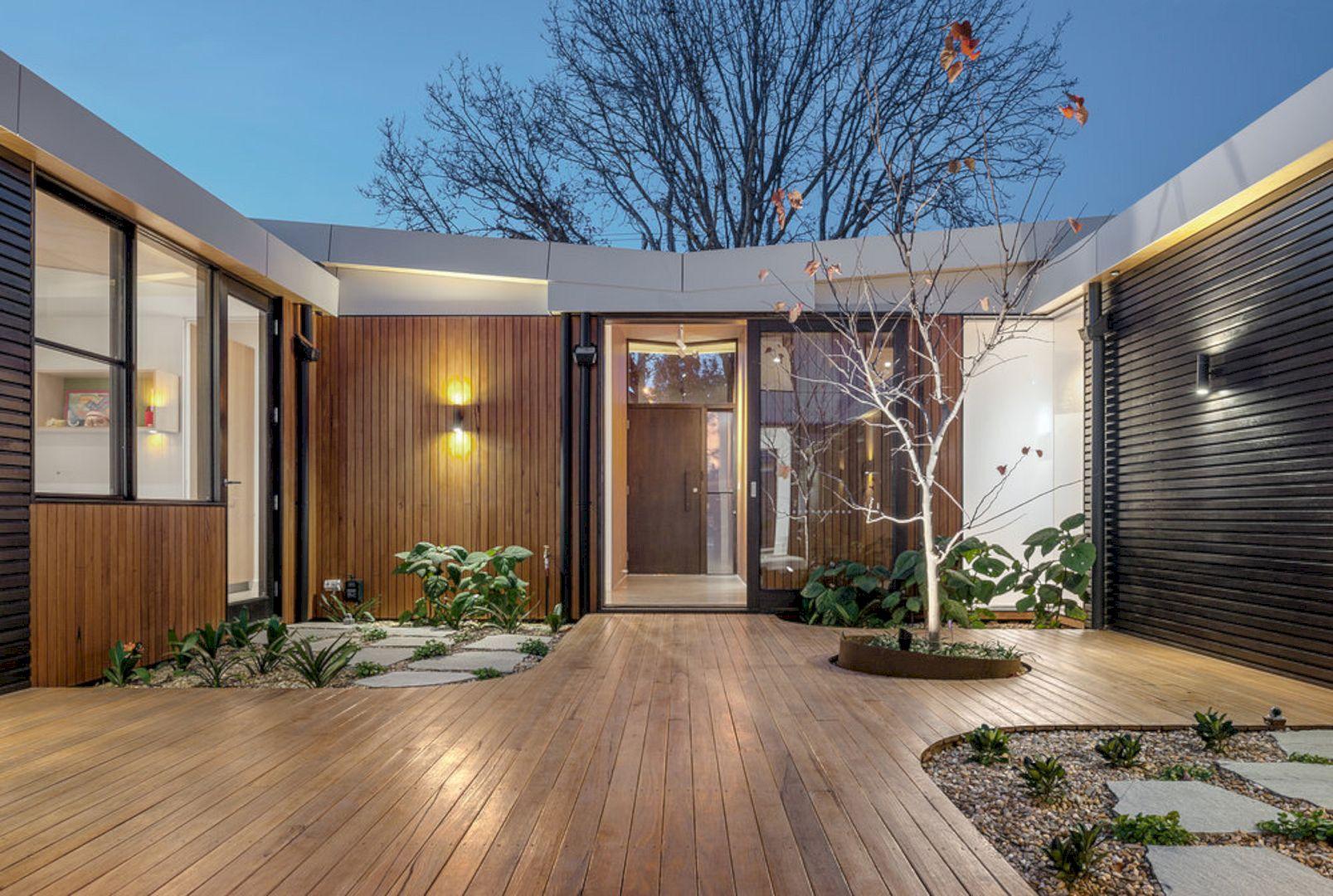 Courtyard House Elsternwick By Zen Architects 6