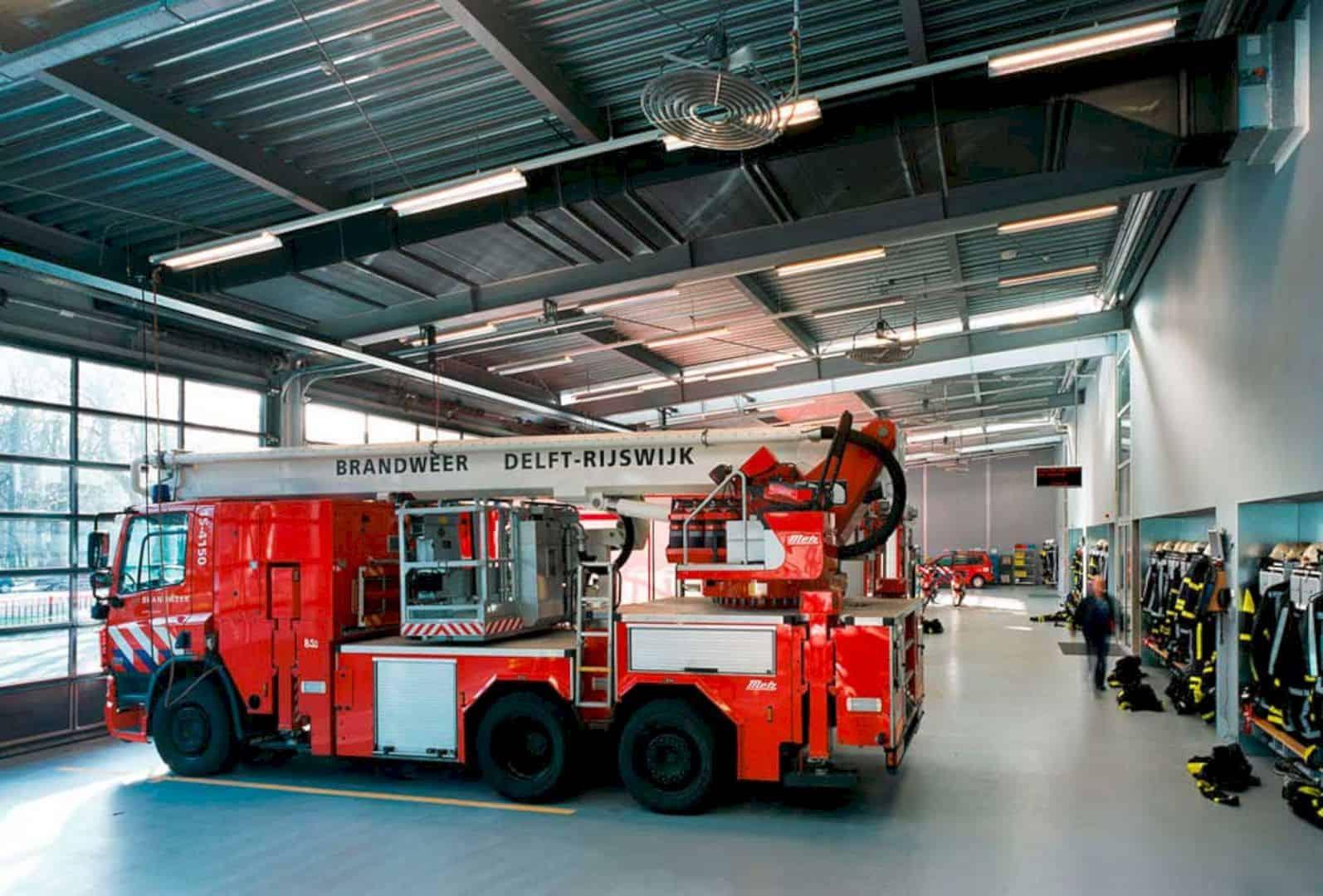 Fire Station Rijswijk By Jeanne Dekkers Architectuur 11