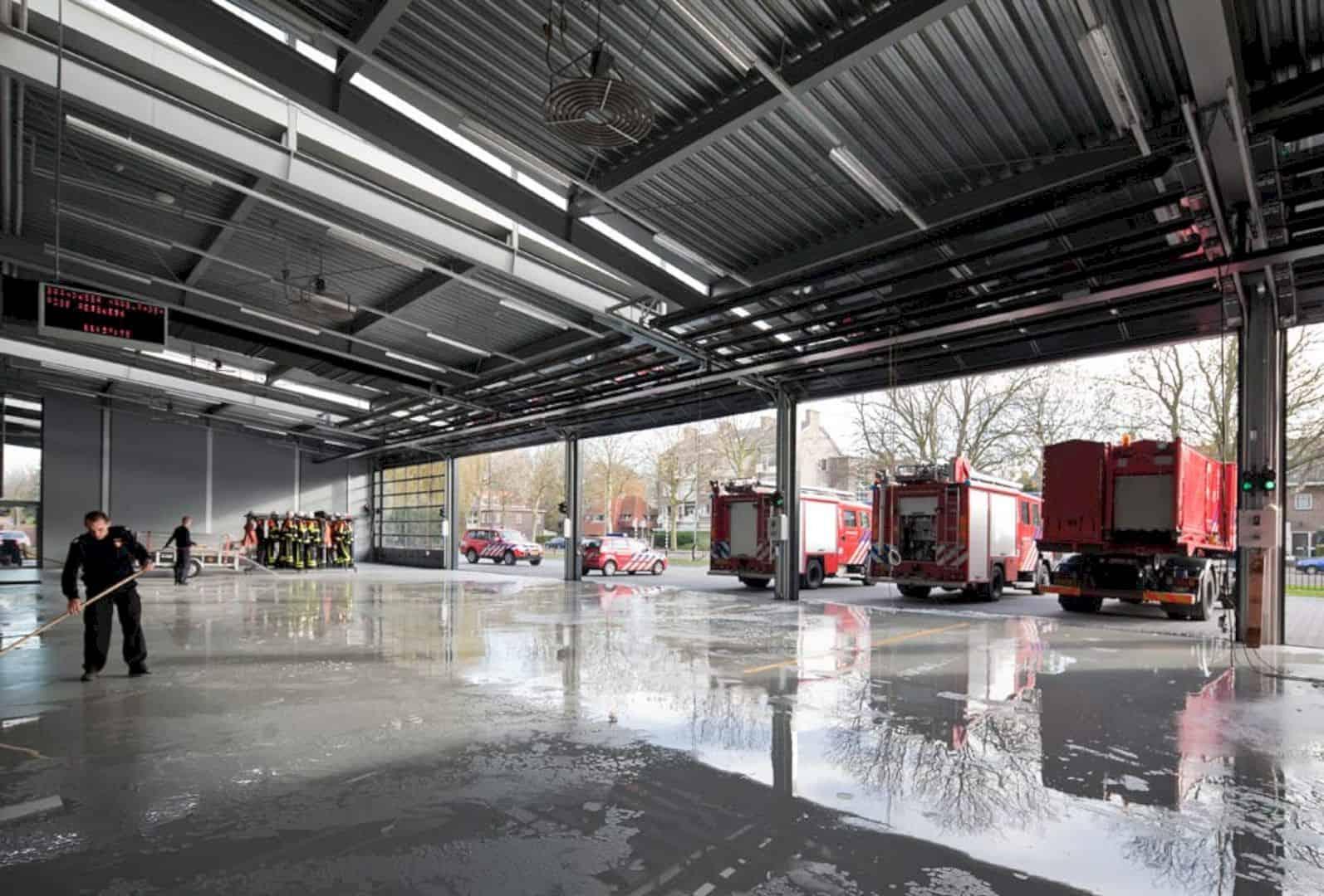 Fire Station Rijswijk By Jeanne Dekkers Architectuur 12