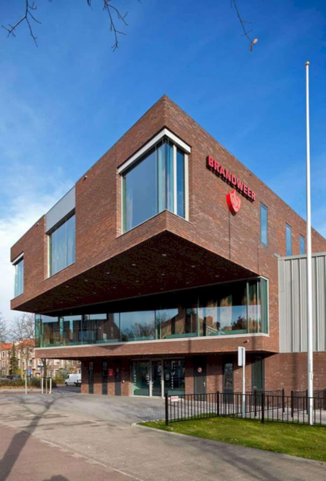 Fire Station Rijswijk By Jeanne Dekkers Architectuur 7
