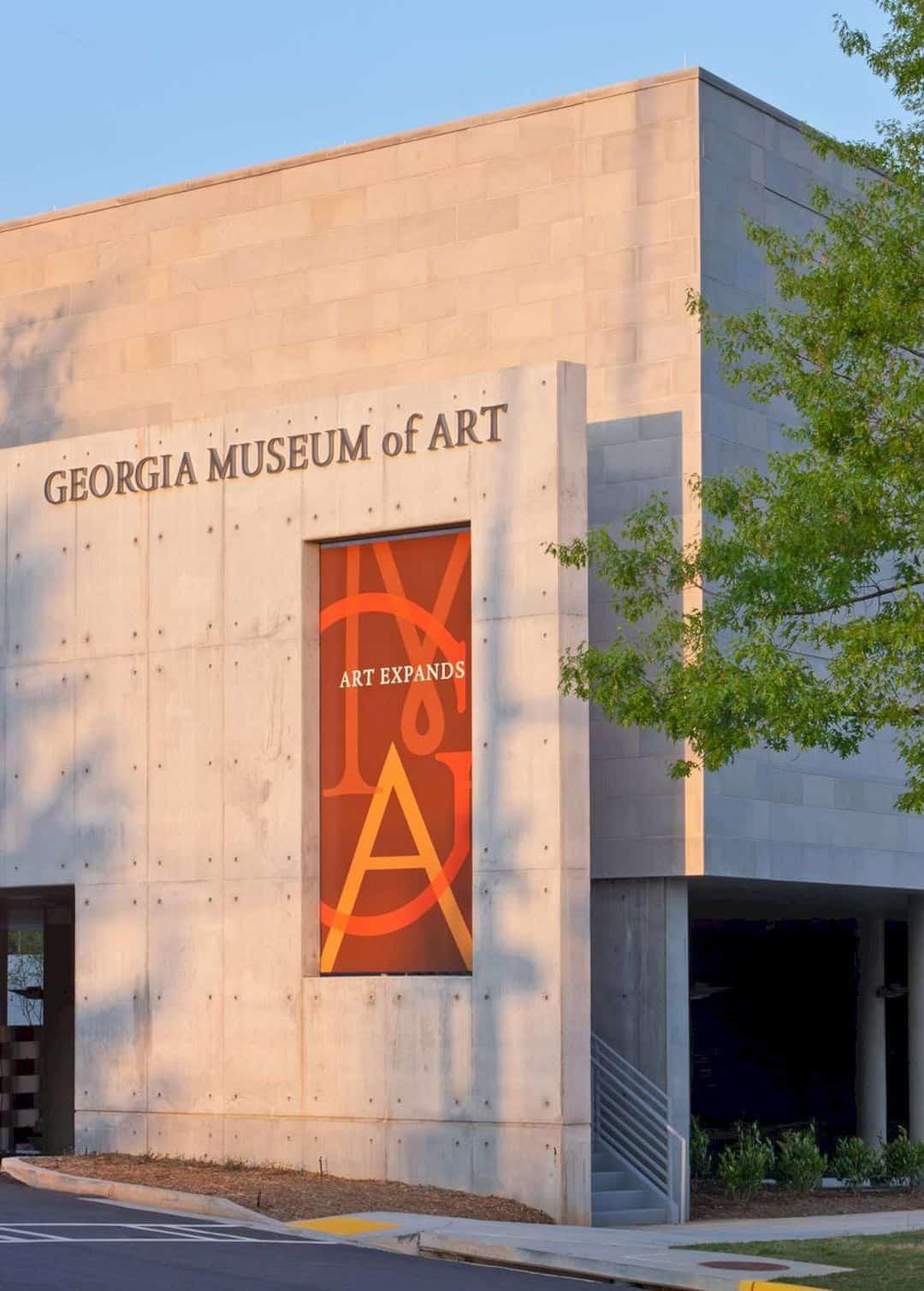 Georgia Museum Of Art By Gluckman Tang 2