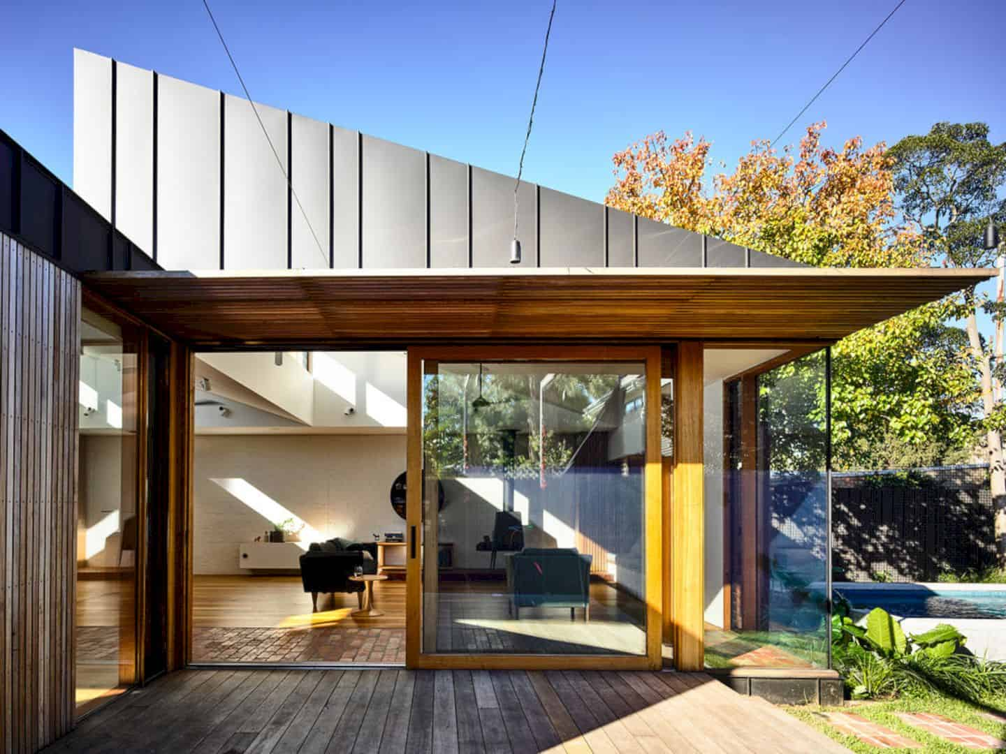 Light Saw House Fitzroy North By Zen Architects 7
