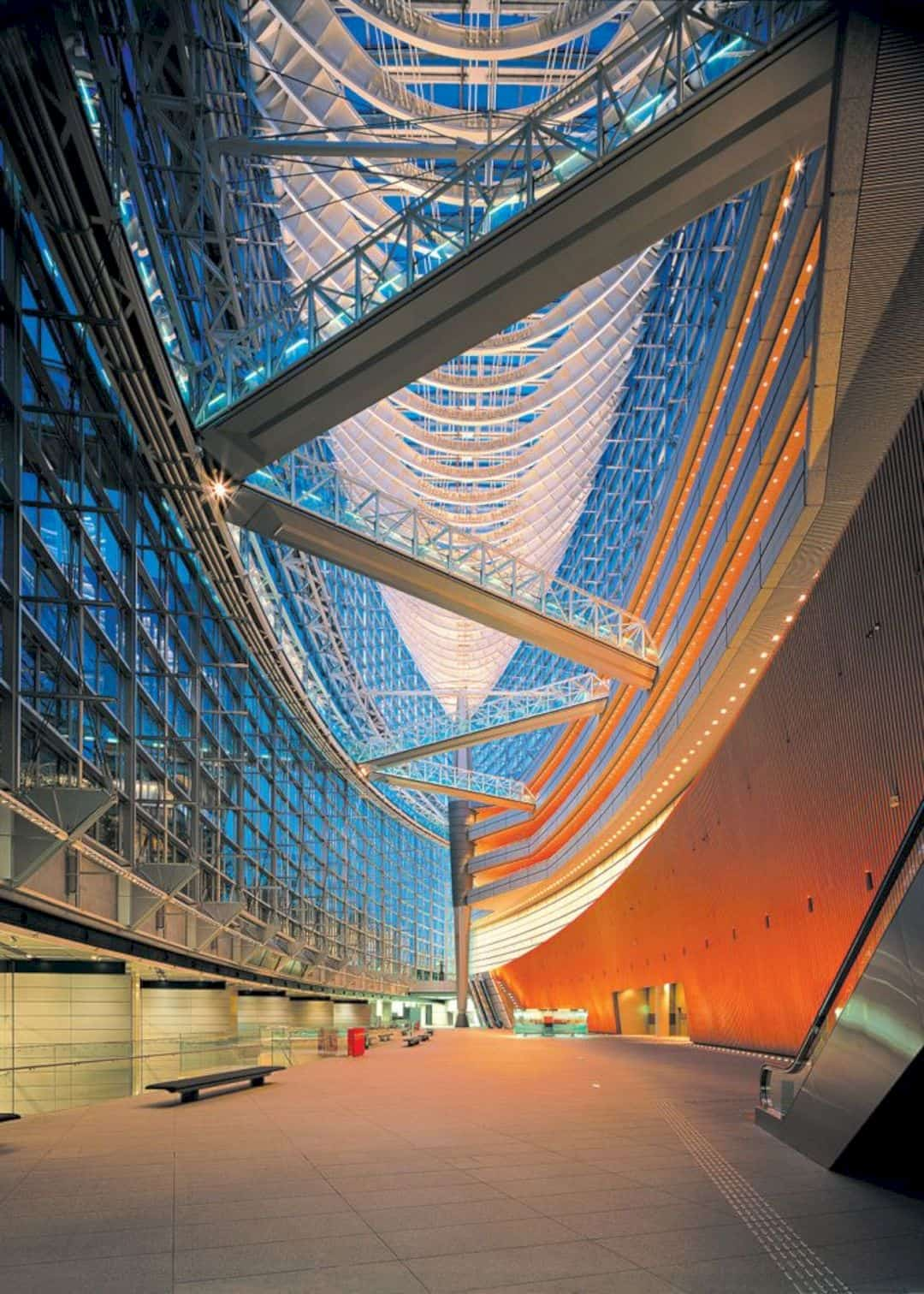 Tokyo International Forum By Rafael Viñoly Architects 9