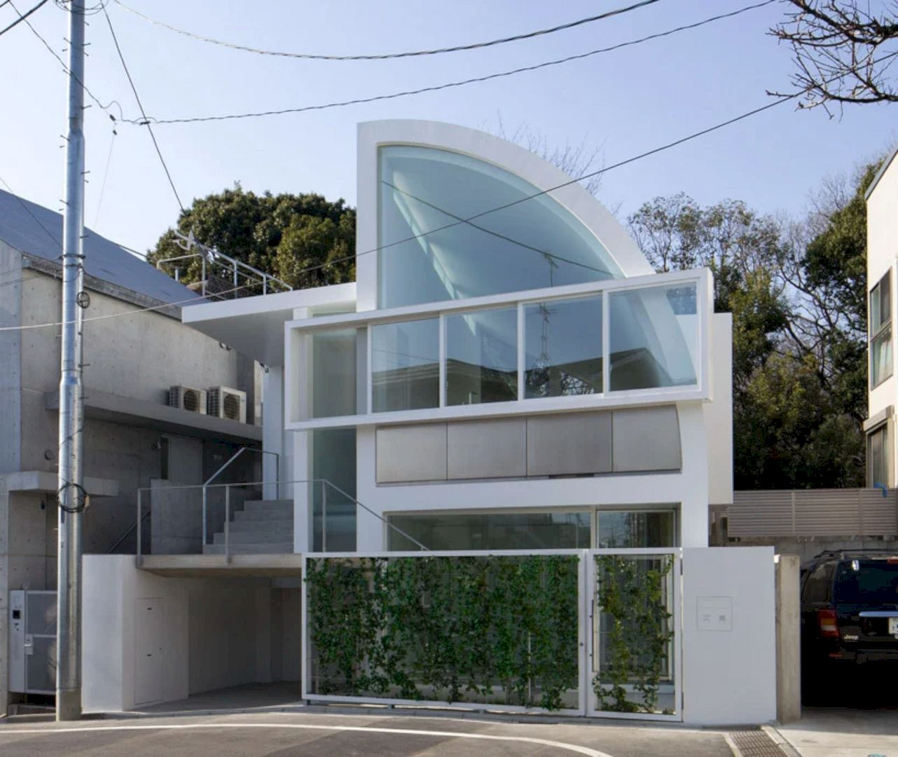 House At Hanegi Park By Shigeru Ban Architects 7