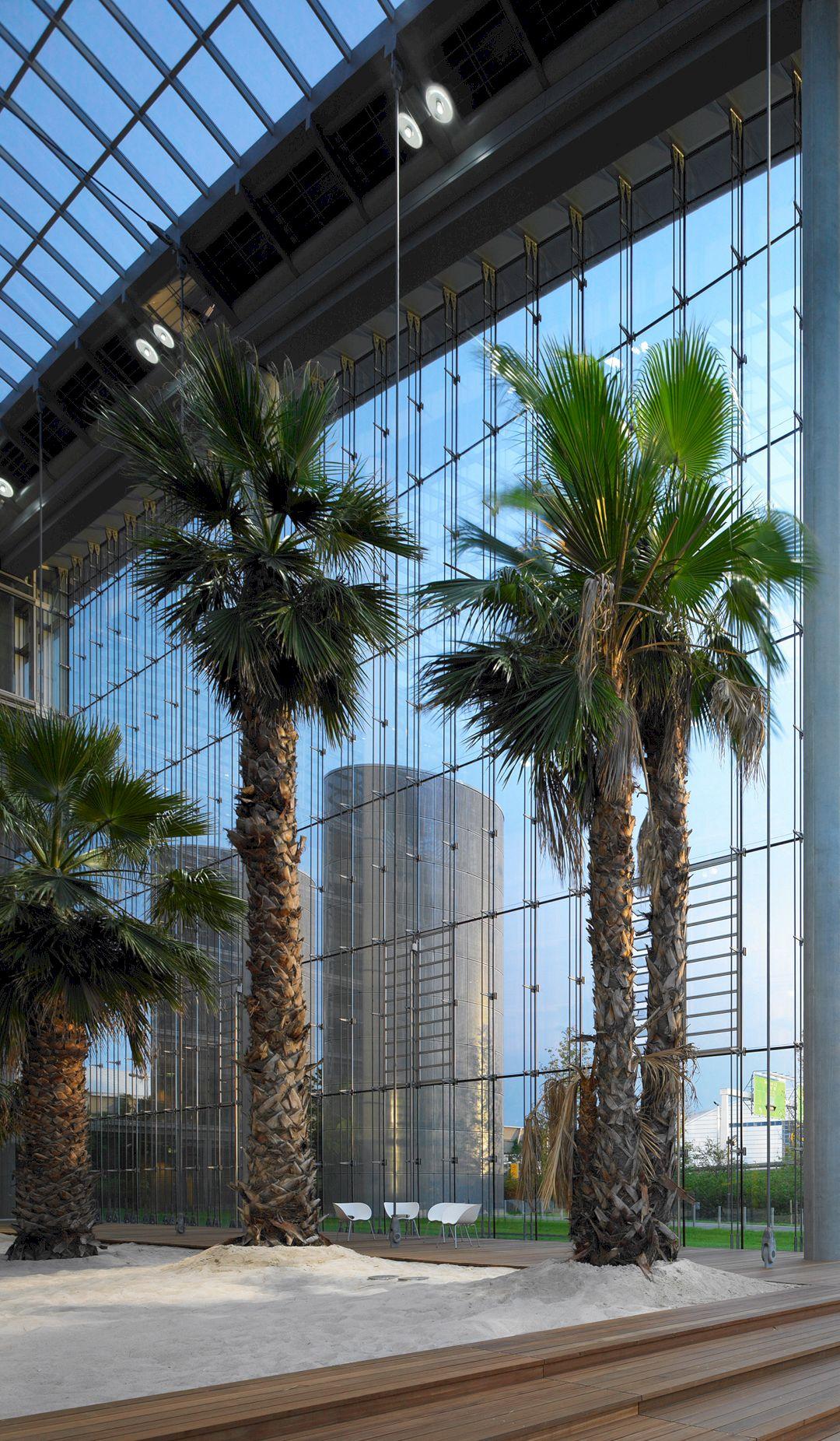 Lufthansa Aviation Center Frankfurt By Ingenhoven Architects 14