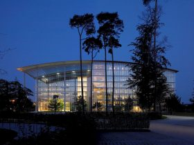 Lufthansa Aviation Center Frankfurt By Ingenhoven Architects 2