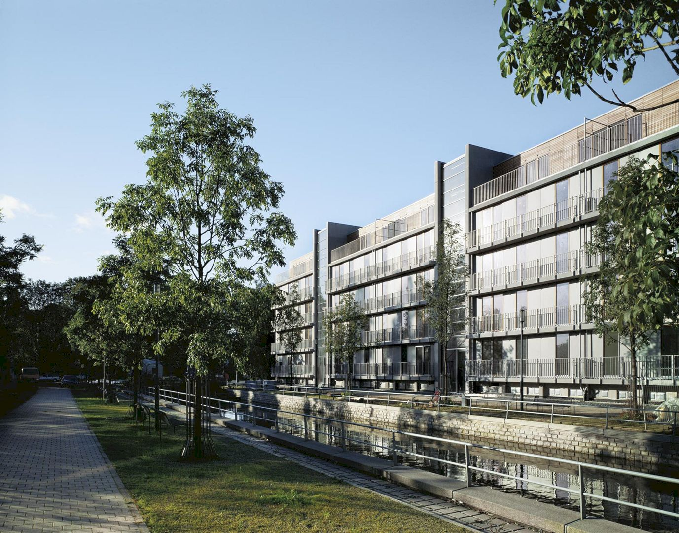 Residential Buildings Inner Harbour By Ingenhoven Architects 4