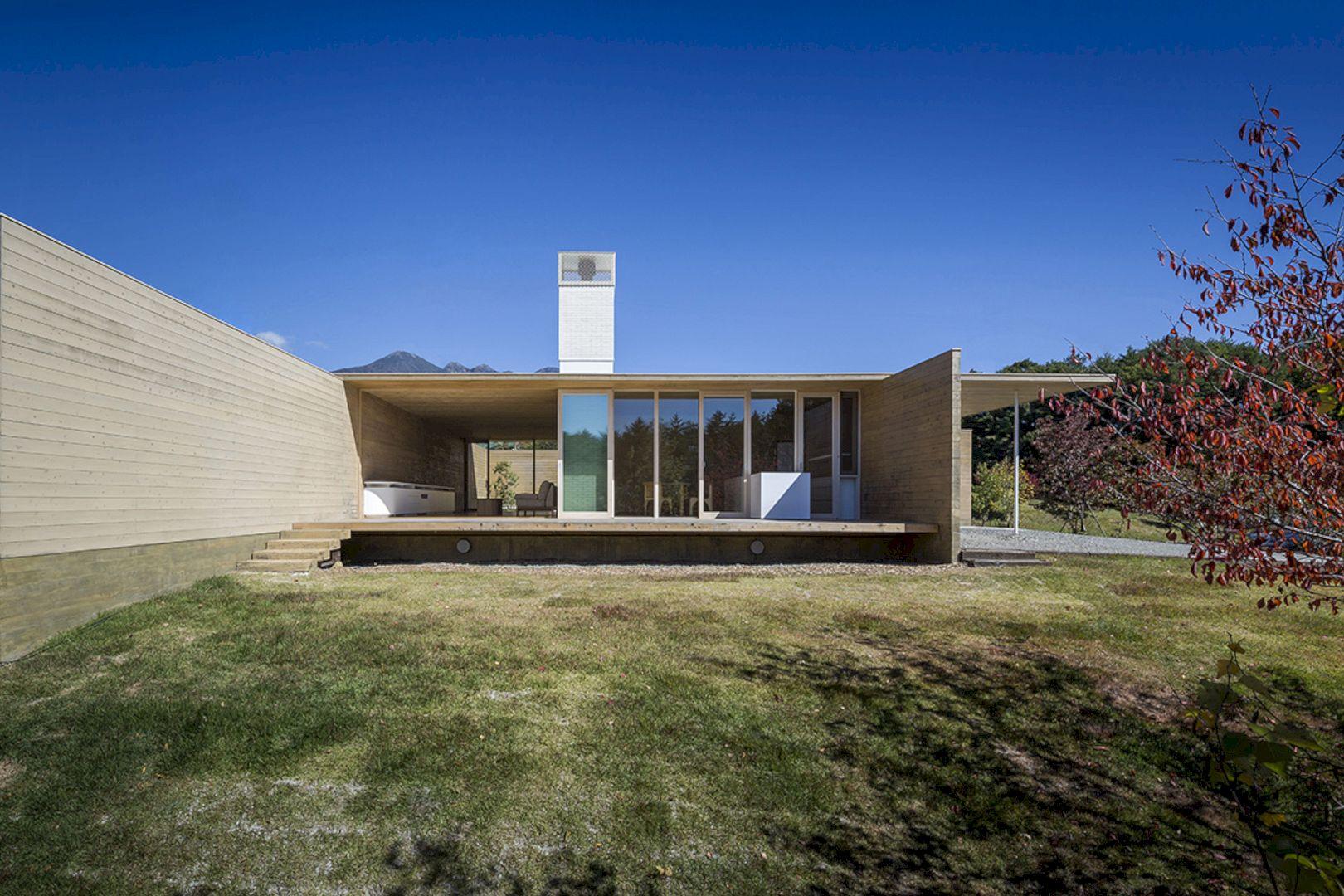 Solid Cedar House By Shigeru Ban Architects 1
