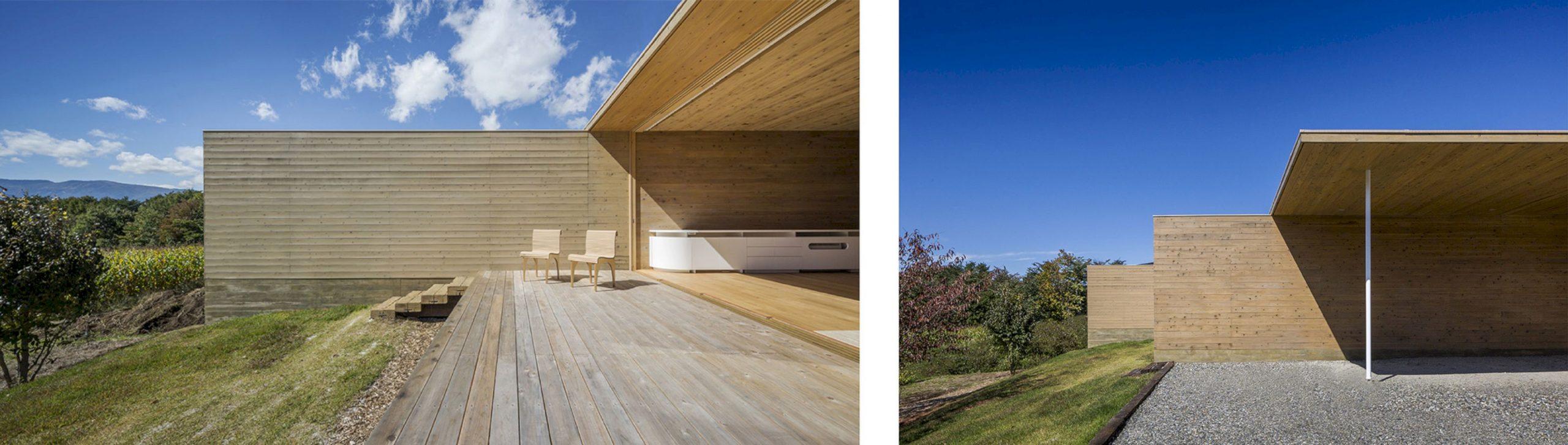 Solid Cedar House By Shigeru Ban Architects 2