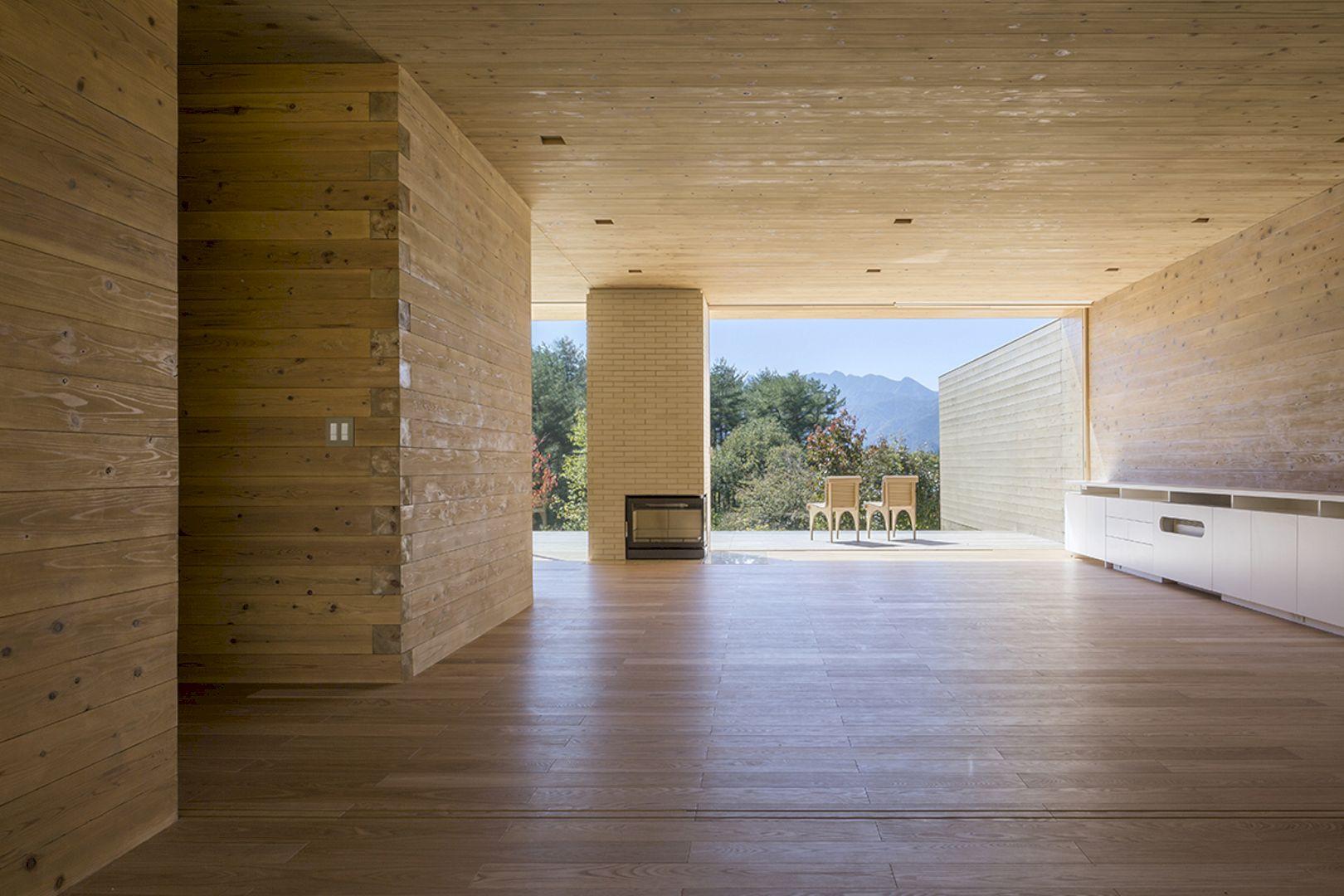 Solid Cedar House By Shigeru Ban Architects 4