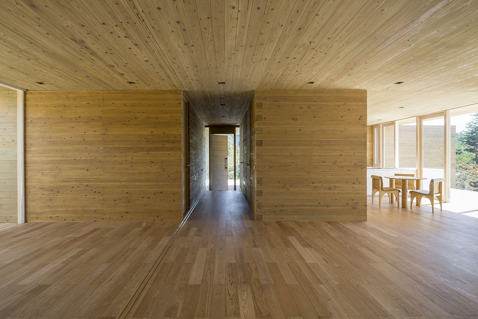Solid Cedar House By Shigeru Ban Architects 5