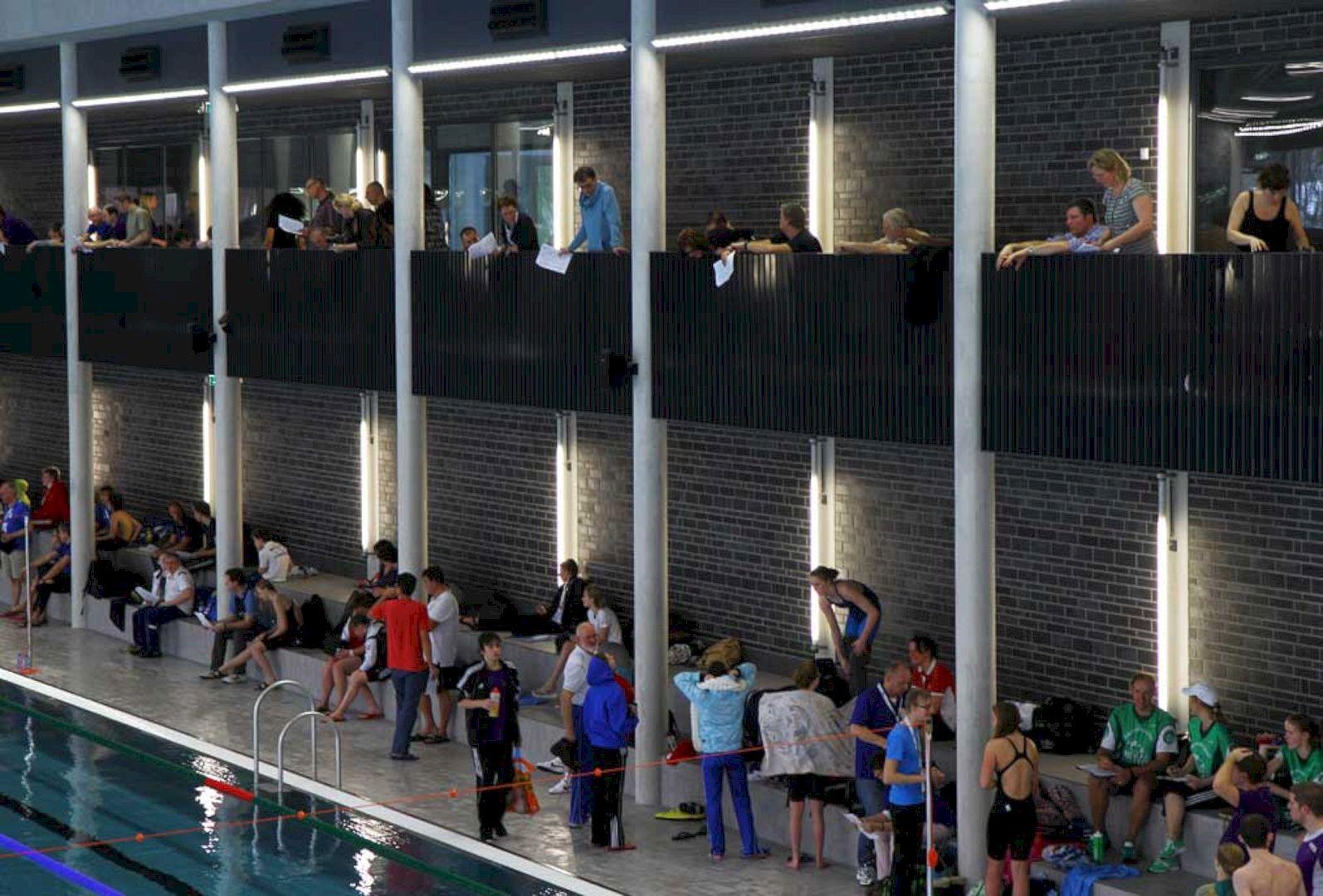 Swimming Pool De Krommerijn Utrecht By Jeanne Dekkers Architectuur 5