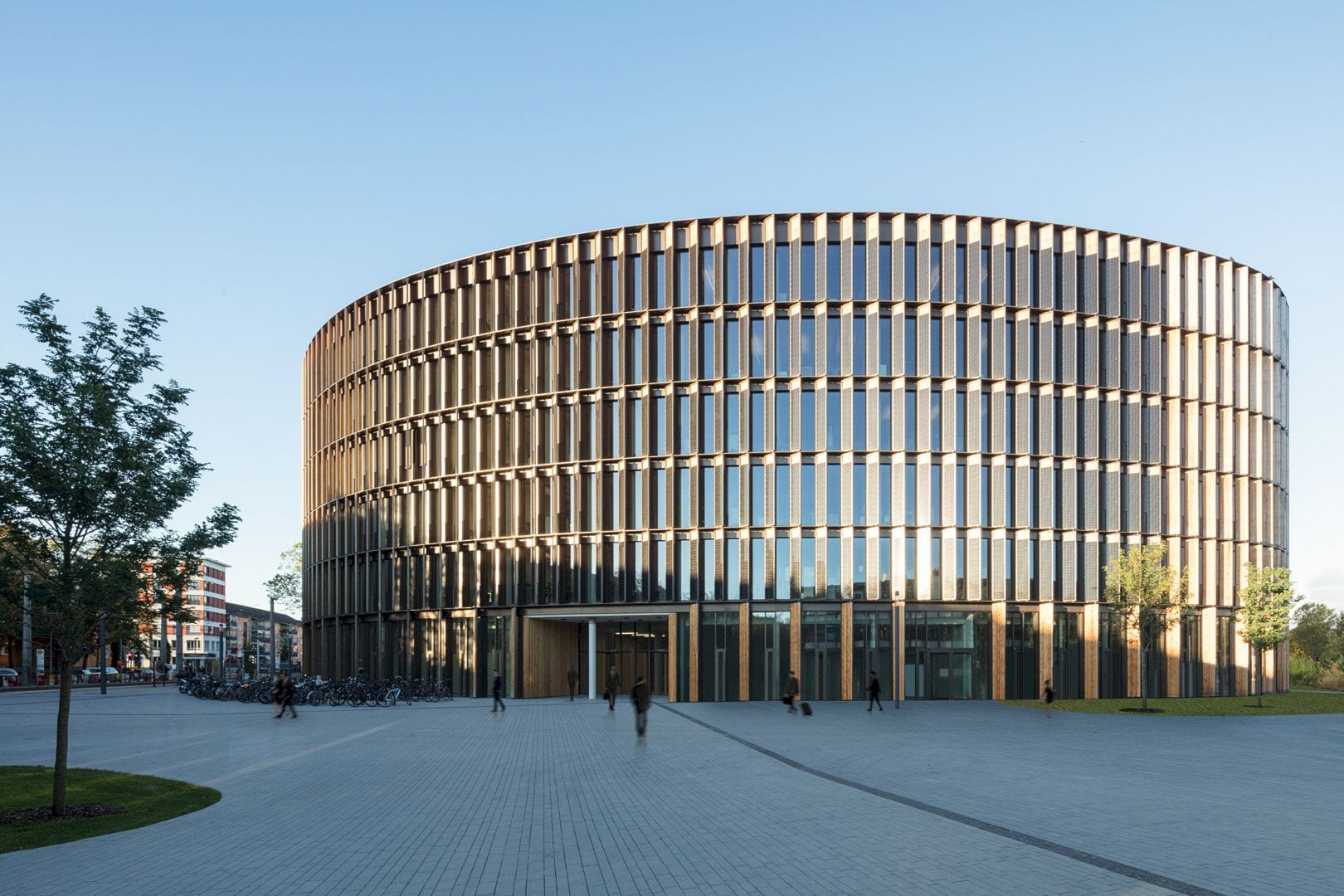 Freiburg Town Hall By Ingenhoven Architects 11