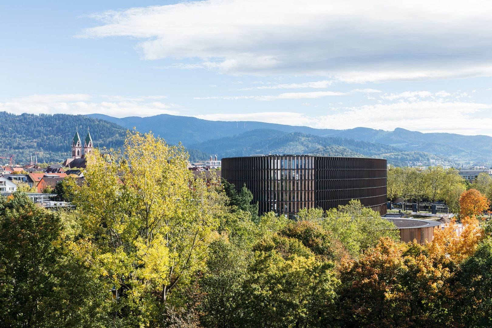 Freiburg Town Hall By Ingenhoven Architects 12