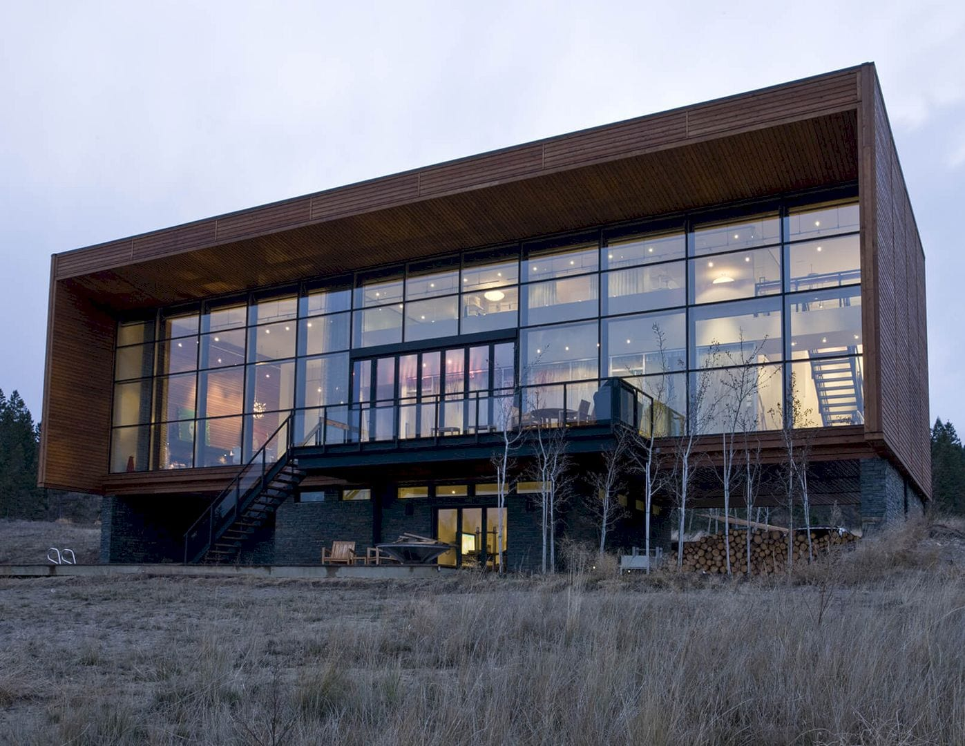 Invermere Frame House By Marc Boutin Architectural Collaborative 5