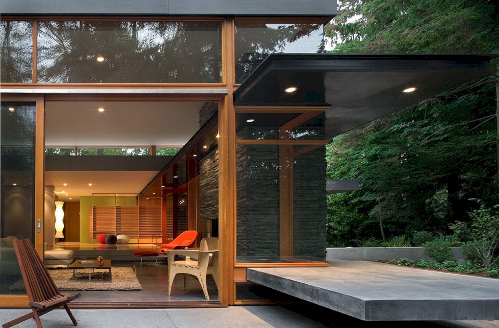 Woodway Residence By Bohlin Cywinski Jackson 4