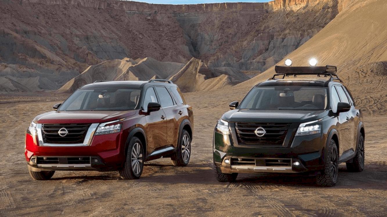 All New 2022 Nissan Pathfinder 1