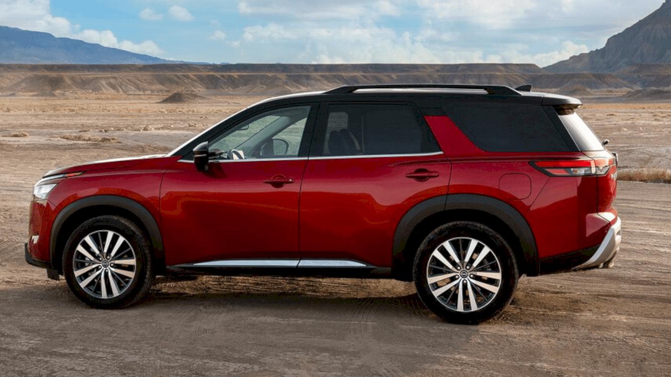 All New 2022 Nissan Pathfinder 7