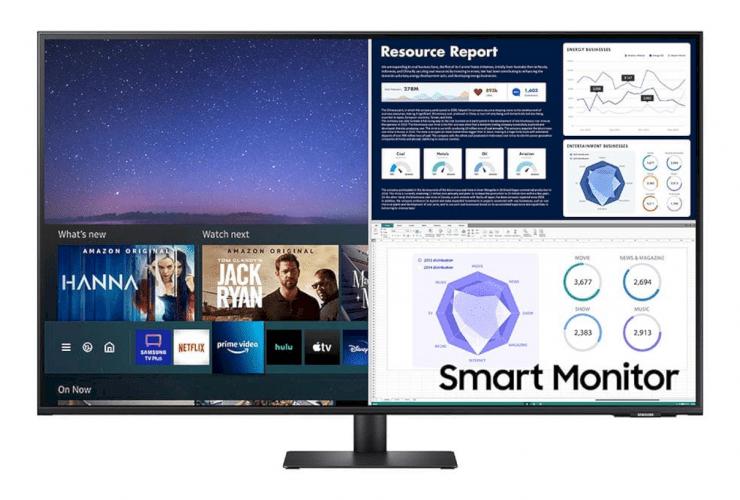 Samsung 43m70a Uhd Smart Monitor 8